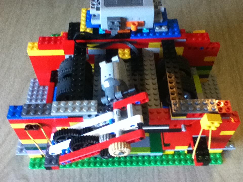Lego Shuffler