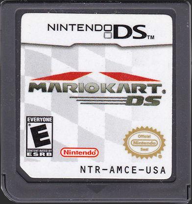 Mario Cart Cartridge