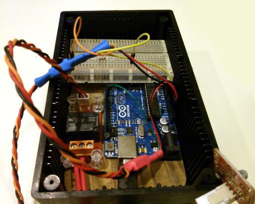 Arduino Thermistor Relay Box